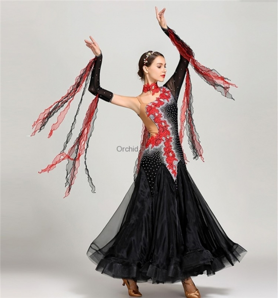 ODBD1111  Ballroom Dance Dress