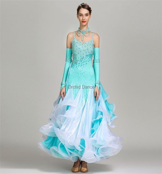 ODBD1110  Ballroom Dance Dress