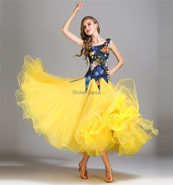 ODBD1106  Ballroom Dance Dress