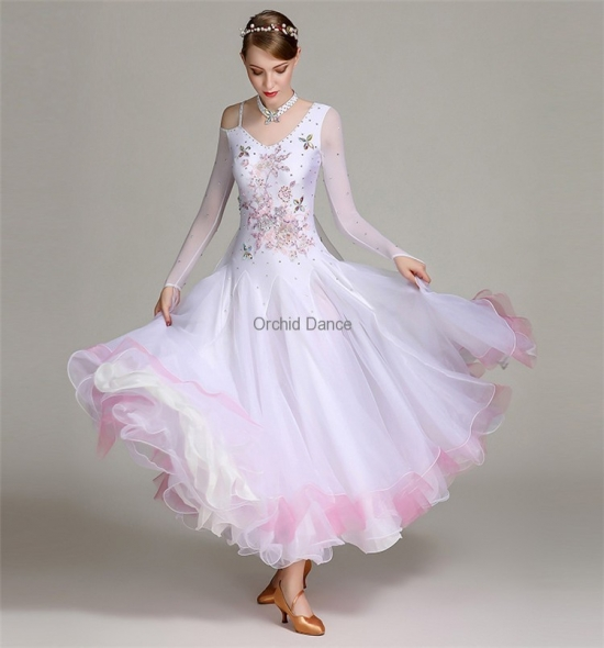 ODBD1090 Ballroom Dance Dress