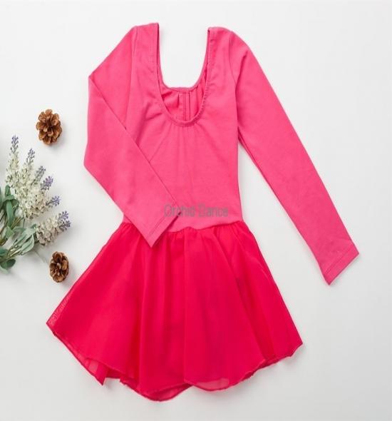 OD-LS004 Chiffon Ballet Dress for Kids