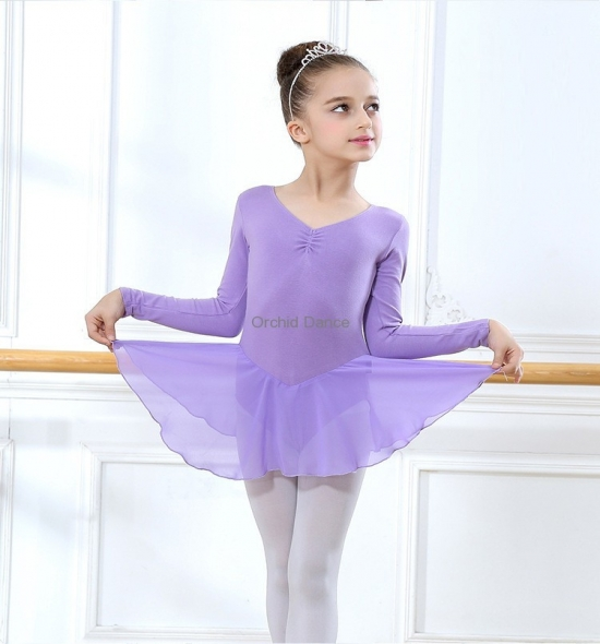 OD-LS102  Chiffon Child Ballet Dress
