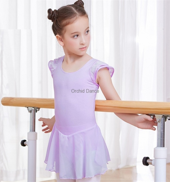 OD-LS003 Chiffon Ballet Dress for Kids