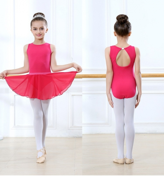 OD-BL003 Girls Ballet Leotard