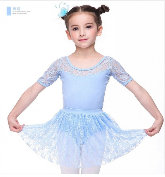 OD-TS301  Girls Leotard with Skirt