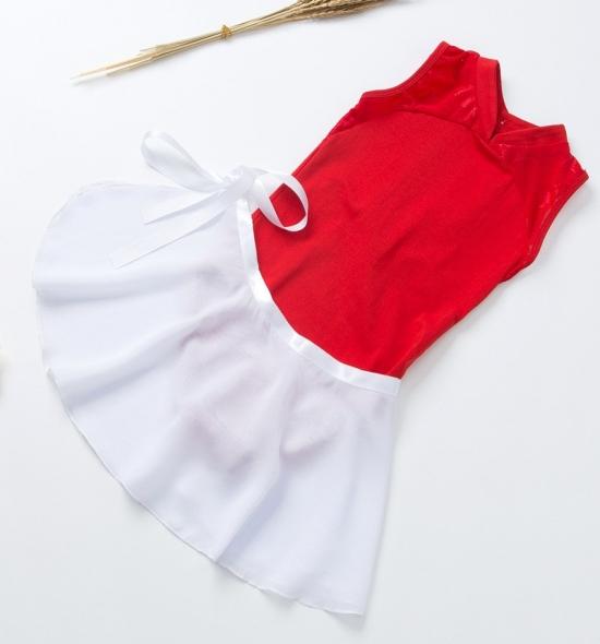 OD-TS004  Lace Ballet Leotards Skirt Set