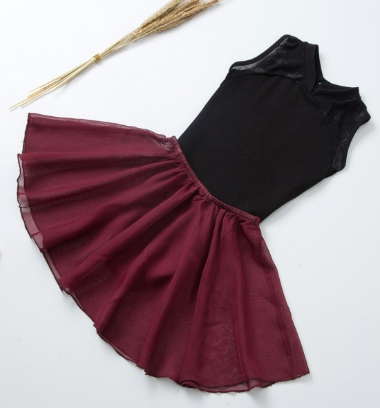OD-TS005 Leotard Skirt Set