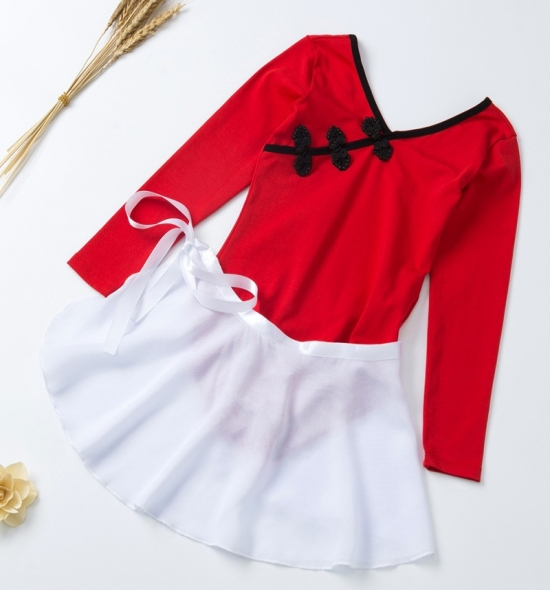 OD-TS016 Leotard Skirt Set