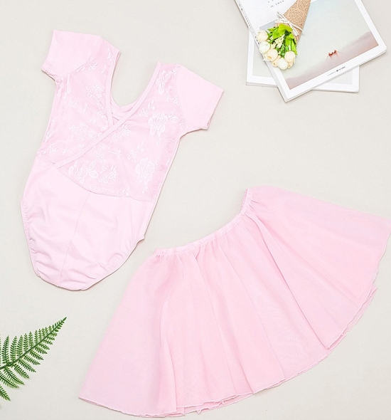 OD-TS021 Girls Leotard Tutu Skirt Set