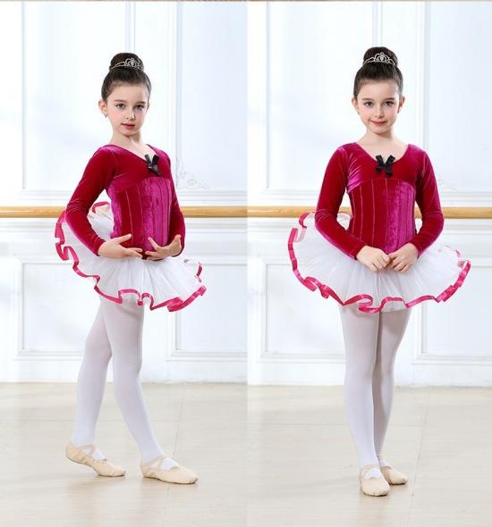 OD-TS102  Leotard Skirt Ballet Tutu