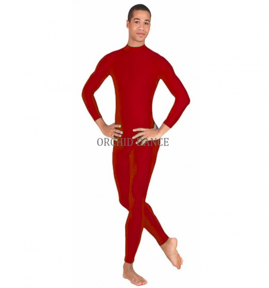 GU00302  Long Sleeve Gym Wear Men Unitard